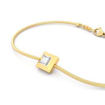 Pyramid Valley Diamond Bracelets