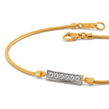 Linear equation Diamond Bracelets