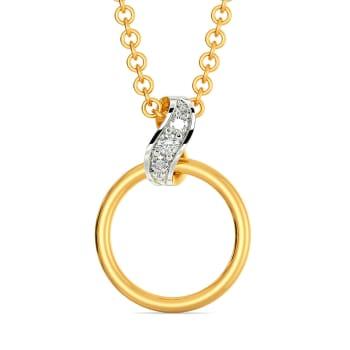 Twirly Whirls Diamond Pendants