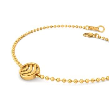 Waves Gold Bracelets