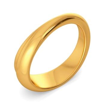 Flow N Flare Gold Rings