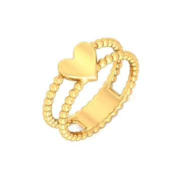 Picture Pretty Gold Rings