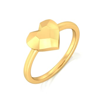 Mushy Much Gold Rings