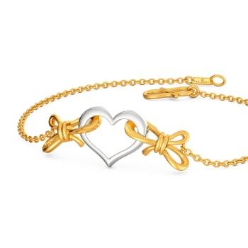 My Valentine Gold Bracelets
