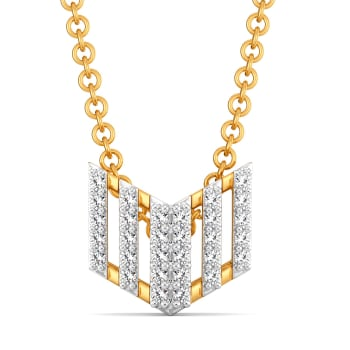 Askew Hues Diamond Pendants