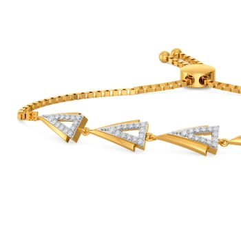 Dart Desires Diamond Bracelets