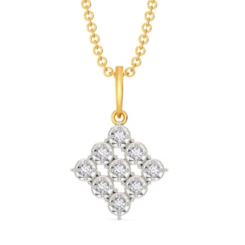Pomp It Up Diamond Pendants
