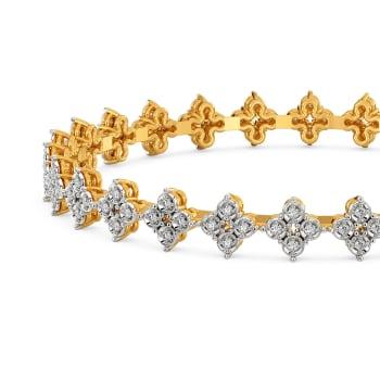 Glitzy Pop Diamond Bangles
