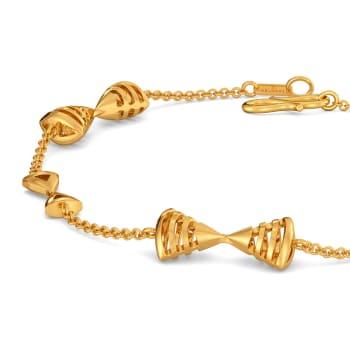 French Urbane Gold Bracelets