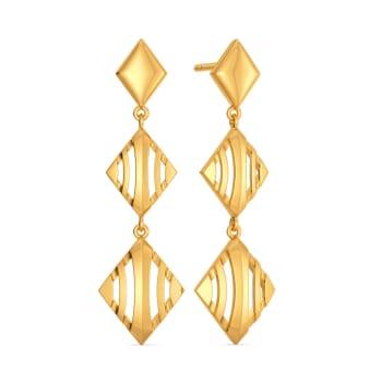 French Urbane Gold Earrings