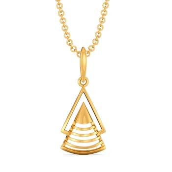 French Urbane Gold Pendants