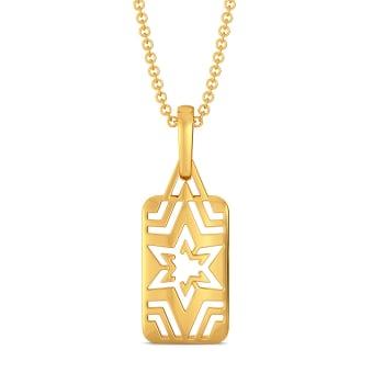 Golden Trio Gold Pendants