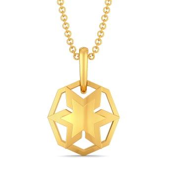 Like A Logo Gold Pendants