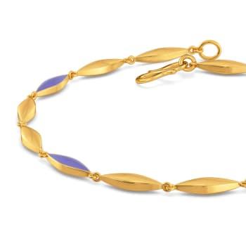 Lilac Vision Gold Bracelets