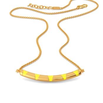 Citrus Cue Gold Necklaces
