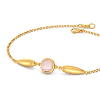 Dews of Pink Gemstone Bracelets