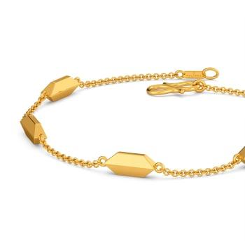 Stunning Simplicity Gold Bracelets