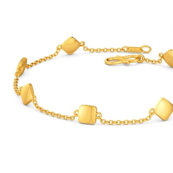 Rhombi Lovin Gold Bracelets