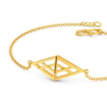 Quad Lace Gold Bracelets