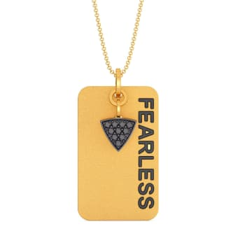 Fearless Diamond Pendants