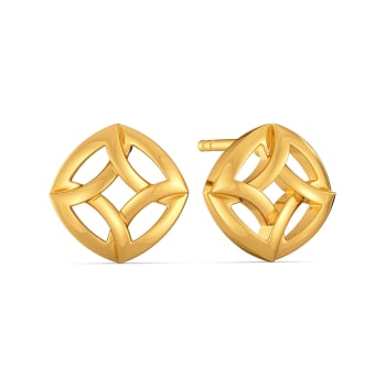 Saviour Suit Gold Earrings
