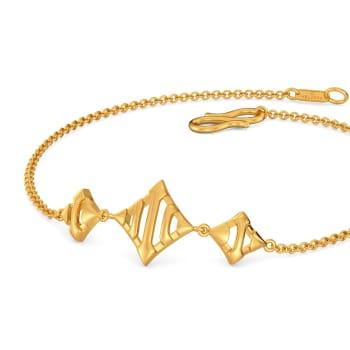 Metallic Armour Gold Bracelets