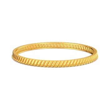 Parallel Play Gold Bangles