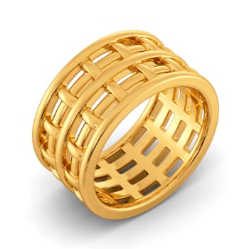 Twine Trouble Gold Rings