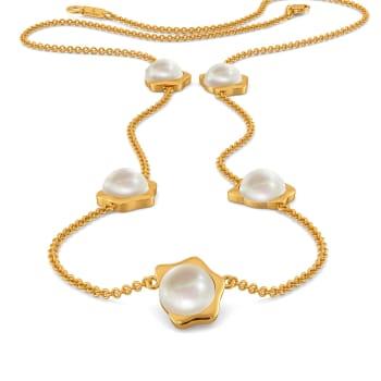 Pop of Polka Gemstone Necklaces