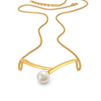 Pearl Swirl Gemstone Necklaces