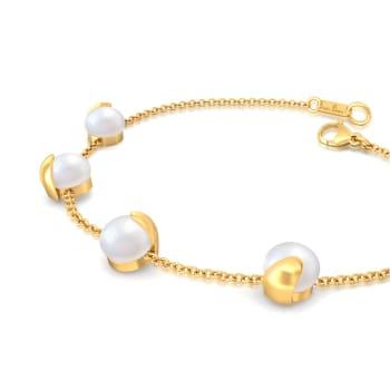 Bijou Boomerang Gemstone Bracelets