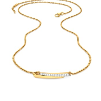 See Swing Diamond Necklaces