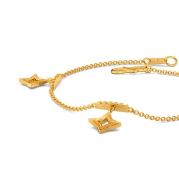 Ridges N Rims Gold Bracelets