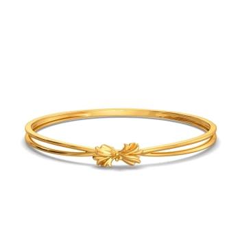 Prairie Coneflower Gold Bangles