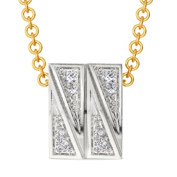 Dazzle Due Diamond Pendants