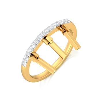 Iced T Diamond Rings