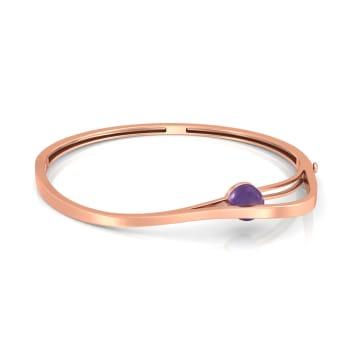 Lilac mystique Gemstone Bangles