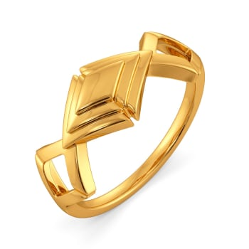Bow Overlay Gold Rings
