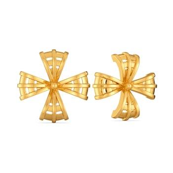Raffia Refresh Gold Earrings