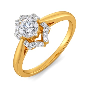 Wings of Love Diamond Rings