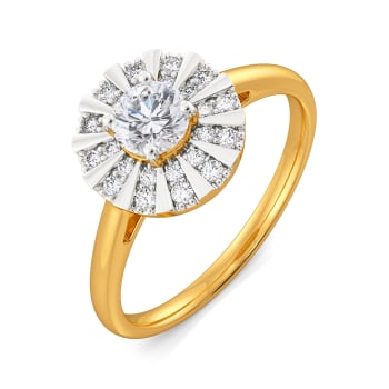 Flair to Bloom Diamond Rings