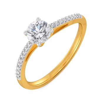 Curvy Classics Diamond Rings