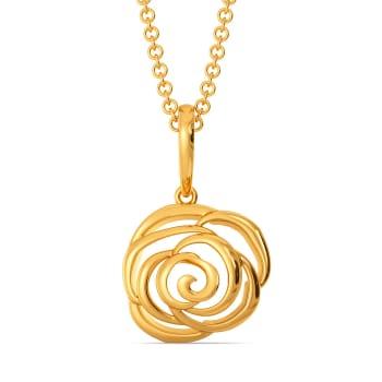 Dark N Delicate Gold Pendants