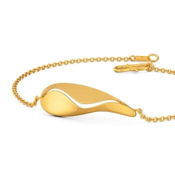 Teardrop Trance Gold Bracelets