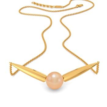 Peach Punch Gemstone Necklaces
