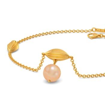 Twirl in Peach Gemstone Bracelets