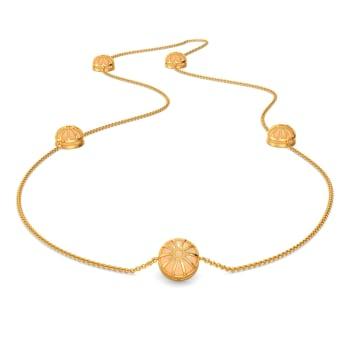 Peach On Point Gemstone Necklaces