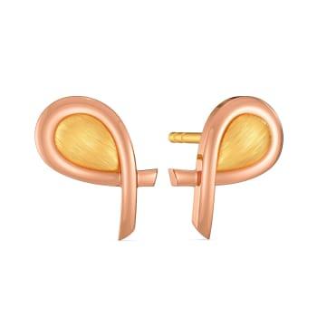Safari Walk Gold Earrings