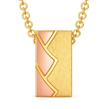 Conquer N Chic  Gold Pendants