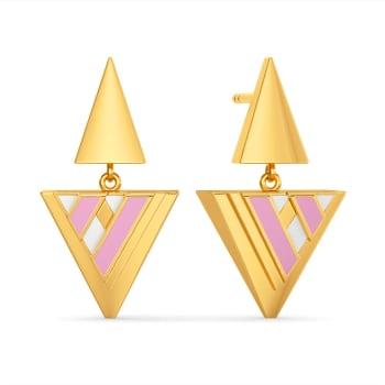 Urbane Prep Gold Earrings